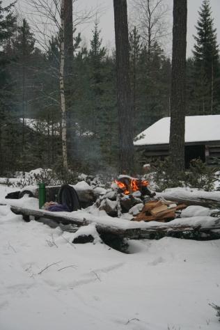 Fireplace by Haukijärvi