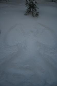 Snowangel Ylläs