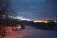 Kilpisjärvi village