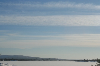 Bridge to Swedens side, Ylitornio