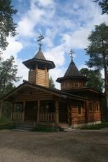 Nellim Orthodox church