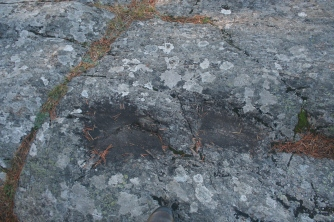 Knee marks of Inkeri Kurki