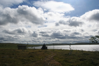 Skaidijärvi and the hut