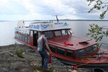 The boat we visited Ukonsaari twelve years ago