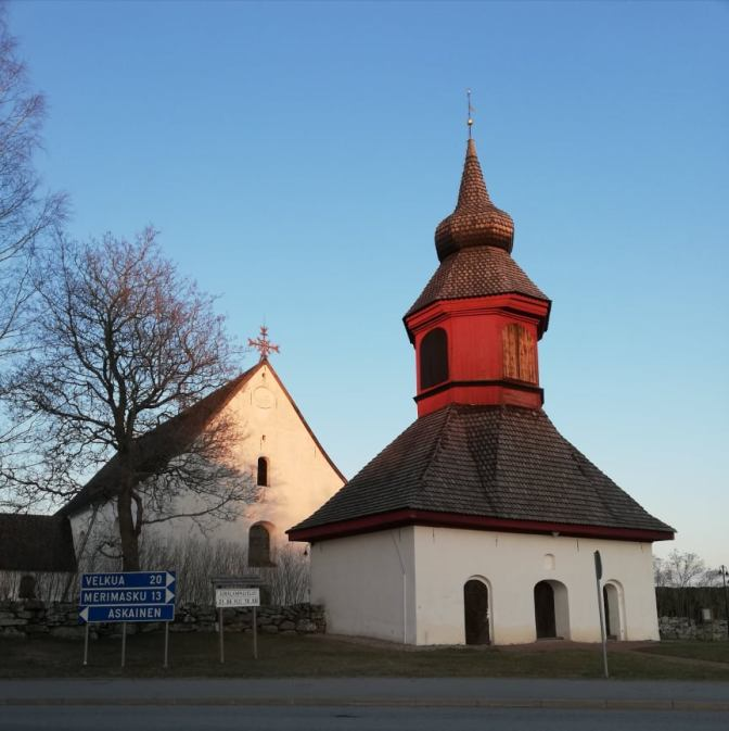 Louhisaari church