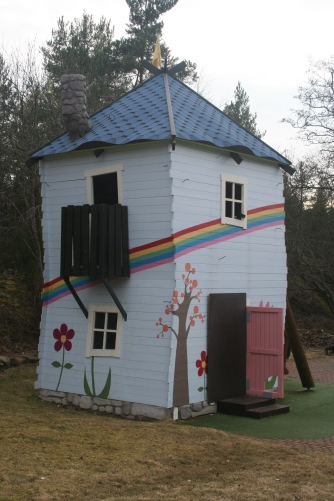 Moomins own house