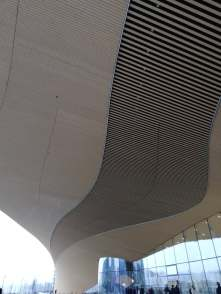 Oodi, roof from entrance