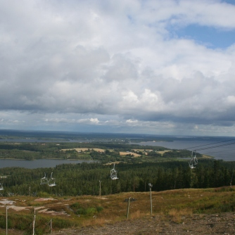 Top of Vuokatti hill