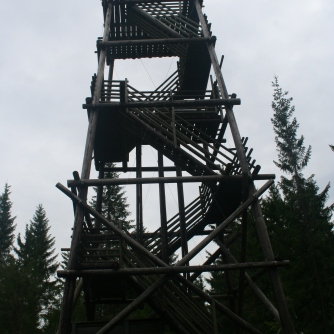 Sightseeing tower at Väisälänmäki